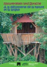 Naturerleben und Sprache, Thema: Wald - Ökologiestation Lahr