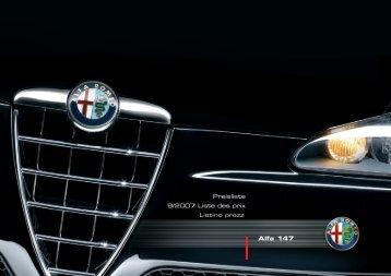 Alfa 147 - BK Auto
