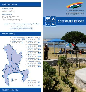 SOETWATER RESORT - City of Cape Town