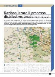 Razionalizzare il processo distributivo: analisi e ... - Antoptima SA