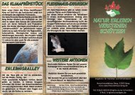 natur erleben verstehen schützen - Naturfreundehaus Berg