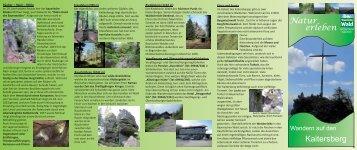 Natur erleben Kaitersberg - Naturpark Oberer Bayerischer Wald