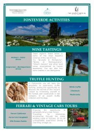 Activities you can do in our resorts