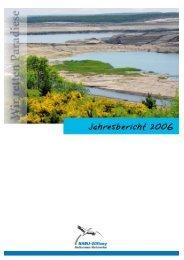 Jahresbericht 2006 - NABU-Stiftung Nationales Naturerbe