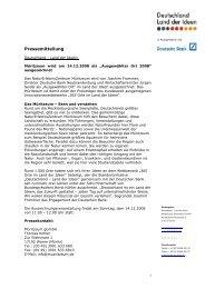 Pressemitteilung vom 14.12.2008 (PDF, ca. 100KB) - Müritzeum