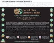 Forest Glen Signs - Chicago Community Climate Action Toolkit - The ...