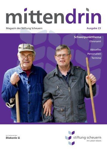 Mittendrin 23, Winter 2012/13 - stiftung scheuern