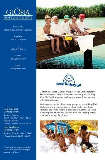 Gloria Golf Resort, Gloria Verde Resort and Gloria Serenity Resort ...