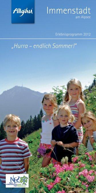 Hurra – endlich Sommer! - Immenstadt