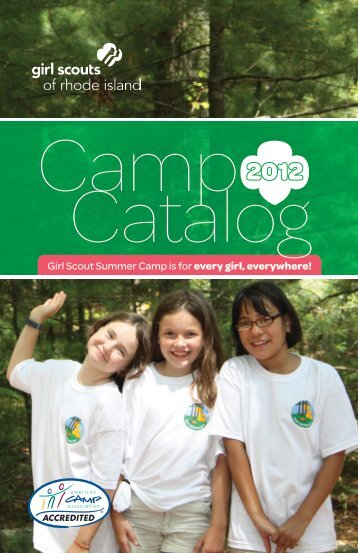 Camp Catalog - Girl Scouts of Rhode Island