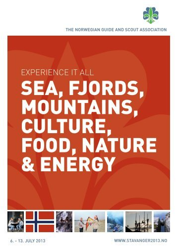 SEA, FJORDS, MOUNTAINS, CULTURE, FOOD, NATURE & ENERGY