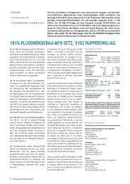 181%-plusenergiebau-mfh setz, 5102 rupperswil/ag - Solar Agentur ...