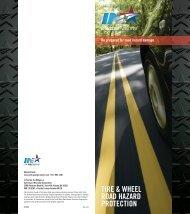 TIRE & WHEEL ROAD HAZARD PROTECTION