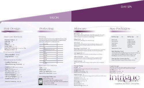 8 - INTRIGUE SALON & DAY SPA