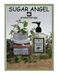 to download our 2012 Catalog - Sugar Angel Aromatherapy, LLC