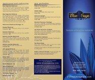 Blue Sage-Brochure(NEW) - Blue Sage Spa