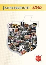 Jahresbericht 2010 (inkl. Spartenrechnung) - Die Heilsarmee