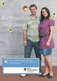 Ihr Eigenheim finanzieren - Basler Kantonalbank