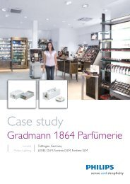 Gradmann Case study (Download pdf) - Philips Lighting