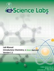 Lab 12: Ionic and Covalent Bonds - eScience Labs