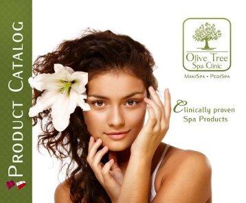 Pobierz katalog produktów - Olive Tree SPA Clinic