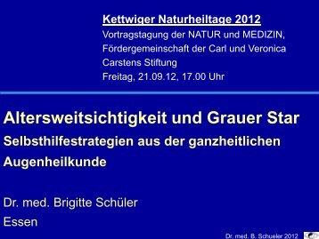 Folien Augen - Natur und Medizin e.V.