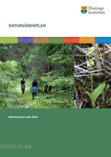 Naturvårdsplan 12-06-28 - Haninge