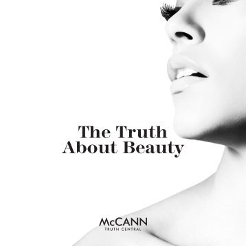 The Truth About Beauty - McCANN
