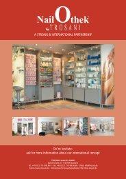 A strong & international partnership - Trosani Cosmetics GmbH