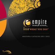 ARIZONA CATALOG 2011-2012 - Empire Beauty School