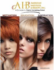 School Catalog - American Institute of Beauty
