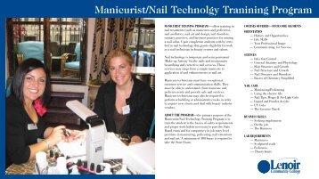 Nail Technology Training Program - Lenoir Community College