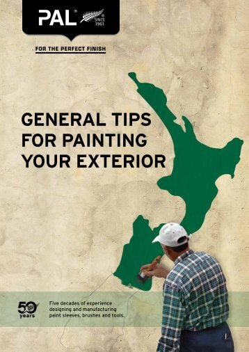 GENERAL TIPS FOR PAINTING YOUR EXTERIOR - Paint Aids