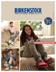 Birkenstock Filz 2012