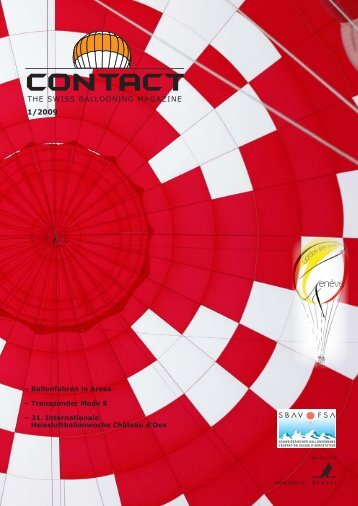 – Ballonfahren in Arosa – Transponder Mode S – 31. Internationale ...
