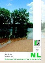 Biotop des Jahres 2003 - MUGV - Land Brandenburg