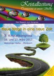 Kristallzeitung 2013 - Kristallkongress