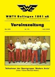 Vereinszeitung ereinszeitung - WMTV - Solingen