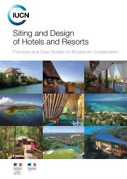Siting and Design of Hotels and Resorts: Principles - IUCN
