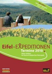 Eifel-EXPEDITIONEN - Nationalpark Eifel