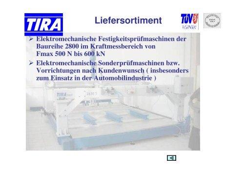 AC- Servoantrieb - TIRA GmbH