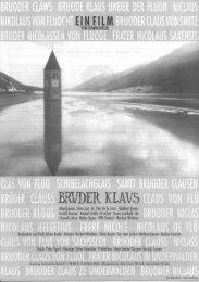 BRUDER KLAUS - Calypso Film AG