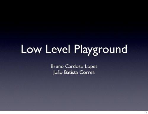 Bruno Cardoso Lopes João Batista Correa - H2Hc