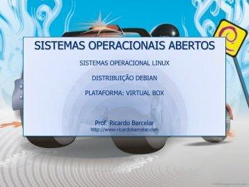 SISTEMAS OPERACIONAIS ABERTOS