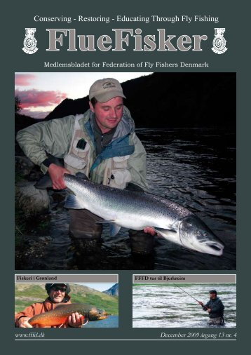 FlueFisker december 2009 - Federation of Fly Fishers Denmark