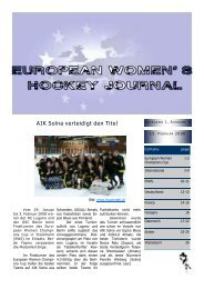 Classement - Fraueneishockey in Deutschland