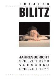 Spielzeit 2009/2010 - Theater Bilitz