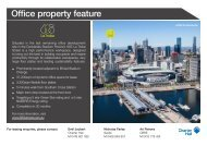 Office property feature - Charter Hall