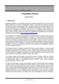 EXPEDITION REPORT - Biosphere Expeditions - Page 6