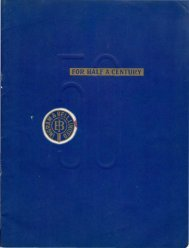 Ingram & Bell Ltd. 50th Anniversary publication - Faculty